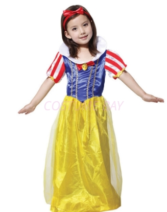 Picture of Girls Princess Snow White Costume