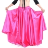 Picture of Full Circle Satin Long Skirt Swing Belly Dance Costumes