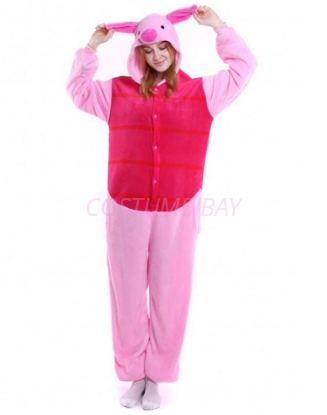 Picture of Piglet Onesie Pyjamas Animal Costume Jumpsuit AU