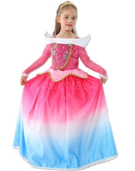 Picture of Girls Princess Aurora Dress Costume Book Week