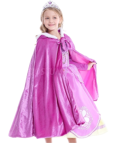 Picture of Rapunzel Sophia Princess Hooded Cape for Book Week