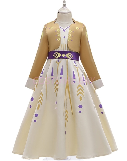 Picture of Frozen 2 Princess Elsa Anna Dress Costume