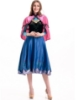 Picture of Adult Ladies Deluxe Frozen Anna Costume Dress