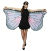 Picture of Woman's  Soft Fabric MultiColor Butterfly Wings Cape