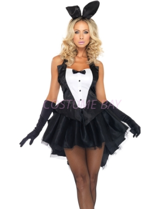 Picture of Tux and Tails Bunny Girl Costume