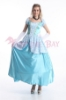 Picture of Womens Princess Cinderella Dress Costume with Hoop Petticoat