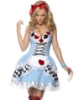 Picture of Womens Alice in Wonderland Queen of Heart Costume