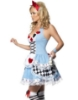 Picture of Womens Alice in Wonderland Queen of Heart Costume