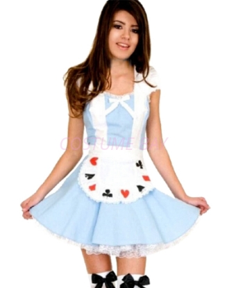 Picture of Womens Alice in Wonderland Costume