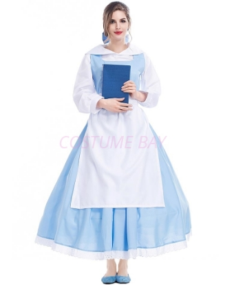 Picture of Ladies Sleeping Beauty and the Beast Belle Princess Maid Dress
