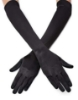Picture of 1920s Flapper Gatsby Long Satin Gloves-White