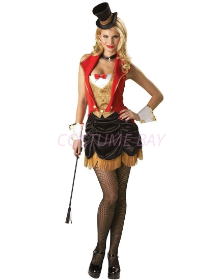 Picture of Sexy Ring Mistress Ringmaster Ladies Costume
