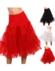 Picture of Retro Rockabilly Petticoat Tutu Costume Underskirt-Red