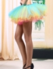 Picture of Retro Rockabilly Rainbow Petticoat Tutu Costume Underskirt