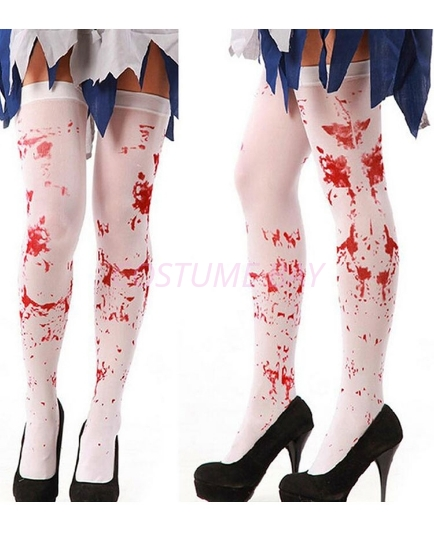 Picture of Christmas Halloween Bloody Stained Stocking
