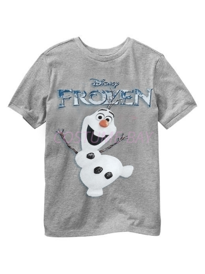 Picture of Boys T-Shirt - Olaf Grey