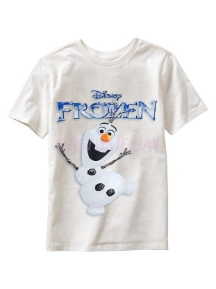 Picture of Boys T-Shirt - Olaf White