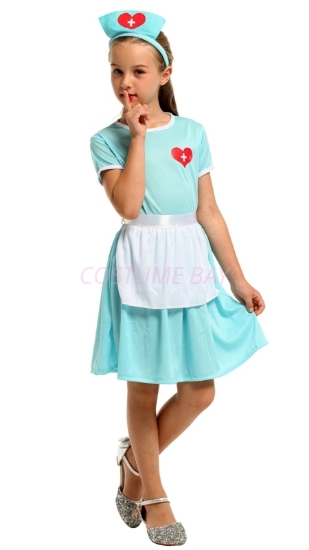 Picture of Kids Nurse Costume for Book Week