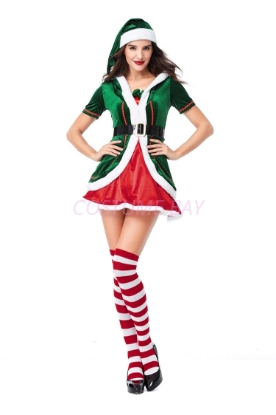 Picture of XMAS Miss Santa Costume