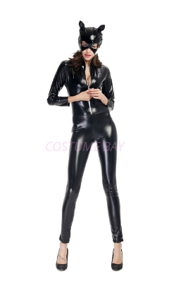 Picture of PU Cat Women Jumpsuit