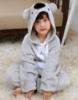 Picture of Kids Grey Koala Onesie