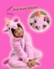 Picture of Kids Pink Royal Unicorn Onesie