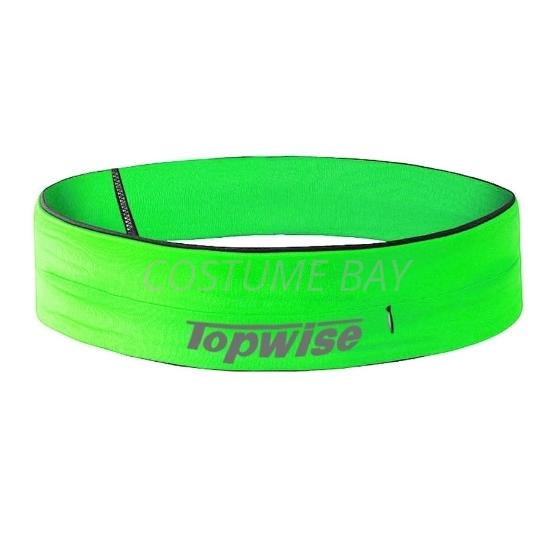 Picture of Sports Running Waist Belt with Zipper - Green