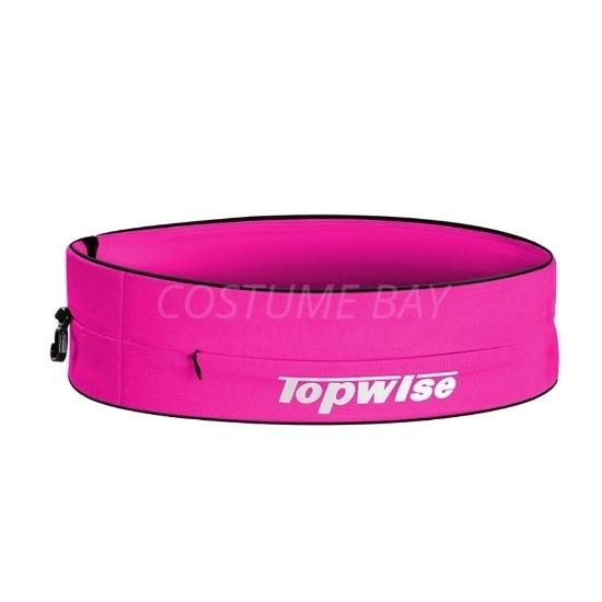 Picture of Sports Running Waist Belt with Zipper - Rose