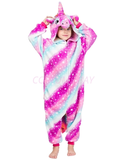 Picture of Kids Blue Sky Unicorn Onesie