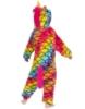 Picture of Kids Scale Rainbow Unicorn Onesie