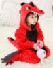 Picture of Kids Red Dinosaur Onesie
