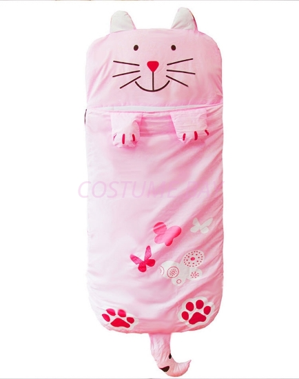 Picture of Kids Animal Sleeping Bag - Cat