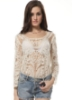 Picture of Floral Top-White