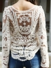 Picture of Floral Top-Beige