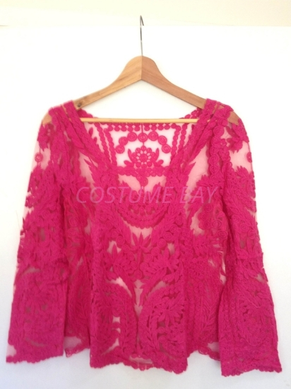 Picture of Floral Top-Rose