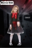 Picture of Girls Halloween Horror Doll Costume
