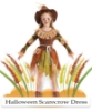 Picture of Girls Pumpkin Patch Scarecrow Costume