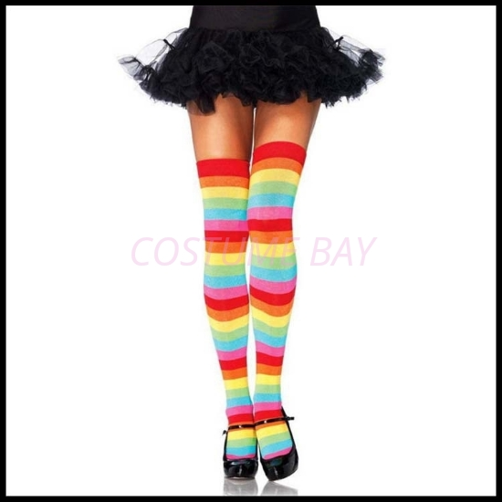 Picture of Womens Rainbow Tights Stockings