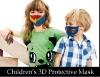 Picture of 3D Kids Unisex Reusable Superhero Face Mask