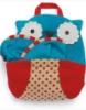 Picture of Kids Animal Travel Fleece Blanket - Brown Monkey