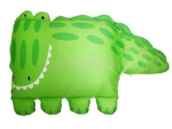 Picture of Kids Children Pet Animal Shaped Pillowcase Boys Girls Crocodile