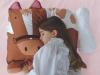 Picture of Kids Children Pet Animal Shaped Pillowcase Boys Girls Horse