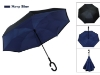 Picture of Upside Down Reverse Umbrella - Navy Blue