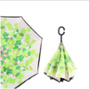 Picture of Upside Down Reverse Umbrella - Green Leaf