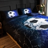 Picture of 3D Soccer Ball Bed Duvet Cover Set with Pillowcase