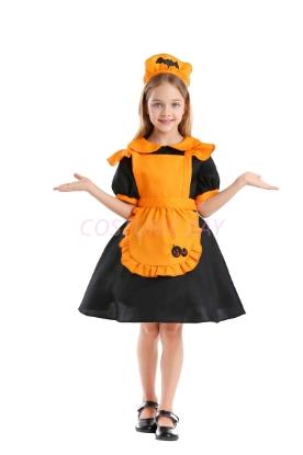 Picture of Girls Pumpkin Dress