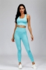 Picture of Seamless Yoga Set - Blue