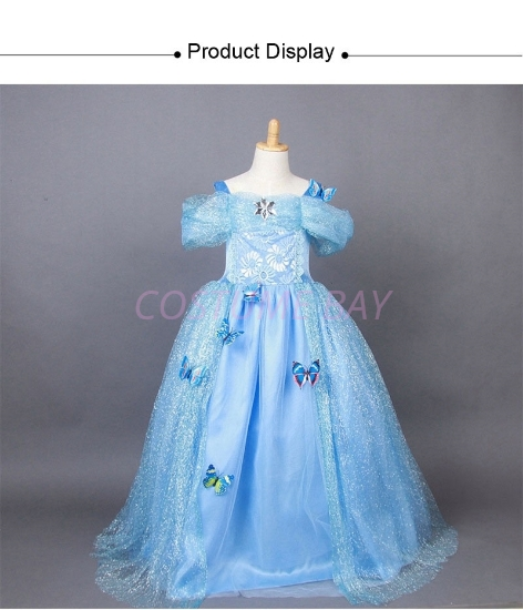 Picture of Girls Princess Cinderella Dress 04 Costume Book Week