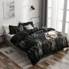 Picture of Black Marble Bed Duvet Cover Set