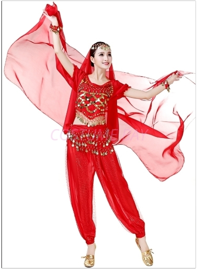 Picture of Dance Scarf -Red